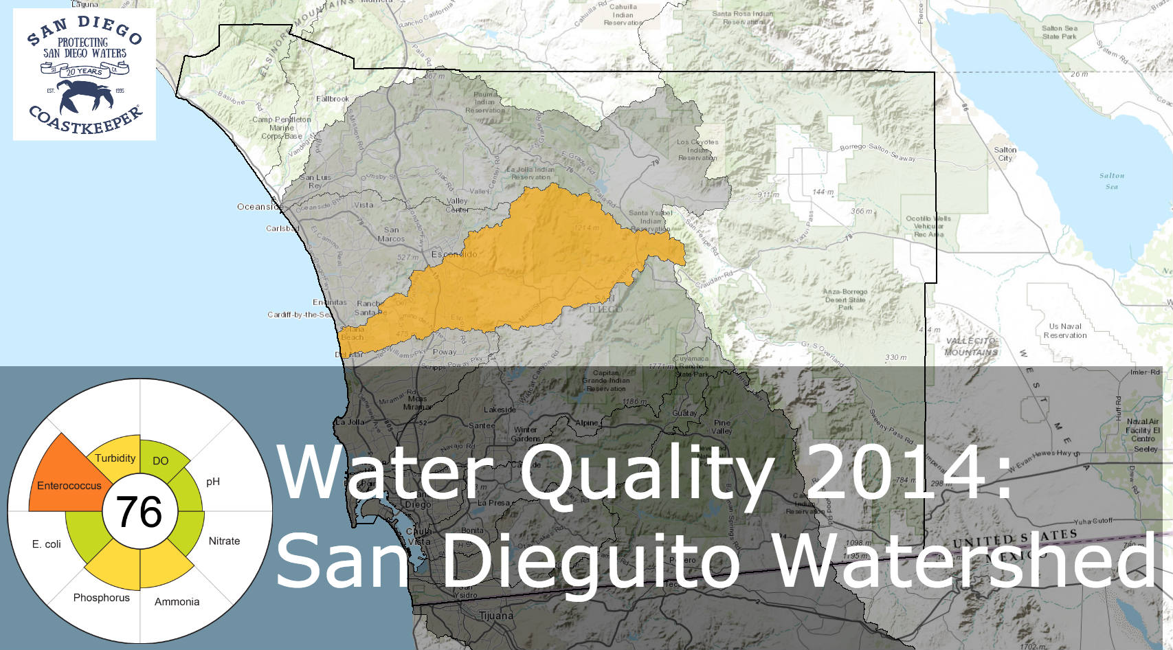 SanDieguito water quality 2014