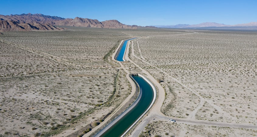 Colorado River Aqueduct by the San Diego County Water Authority